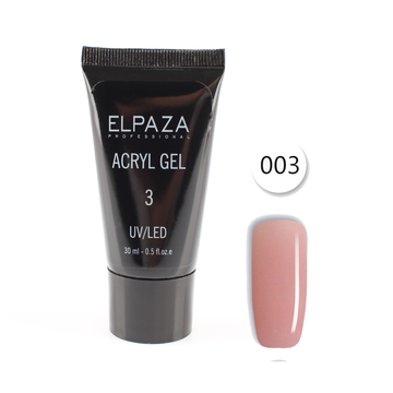 Полигель Elpaza UV/LED Acryl Gel 03 30 мл