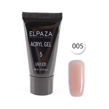 Полигель Elpaza UV/LED Acryl Gel 05 30 мл