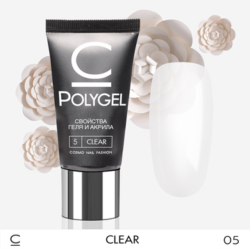 Полигель Cosmolac Polygel CLEAR 05 30 мл